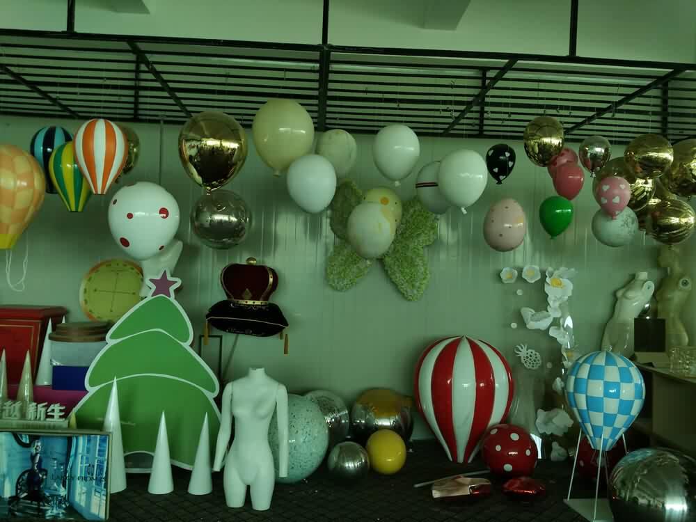 hot air balloon hanging decorations
