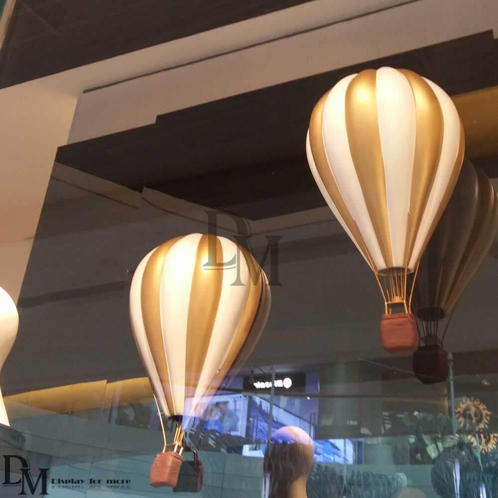hanging hot air balloon decoration