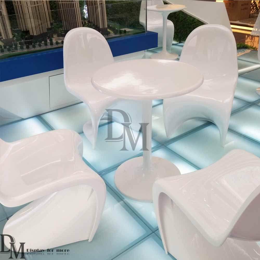 fashion fiberglass table and chairs fiberglass furniture
