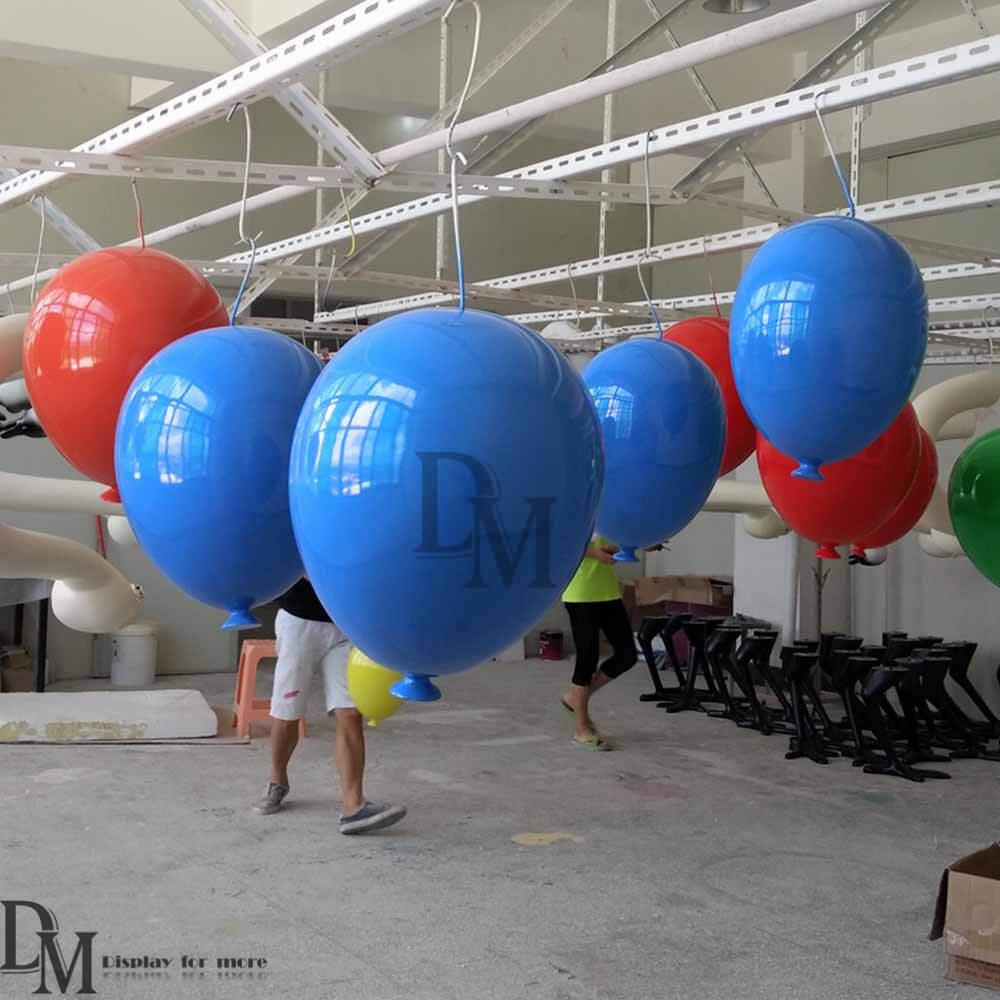 fiberglass balloon display prop