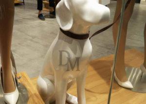 Life Size Dog Statue