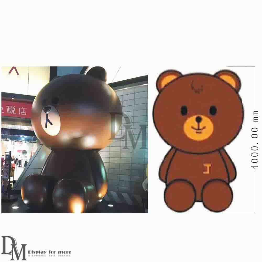 Large custom Bear Statues