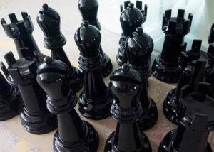 large garden chess set