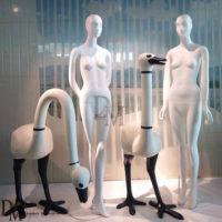 fiberglass ostrich animal statues