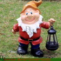 fiberglass gnomes statues