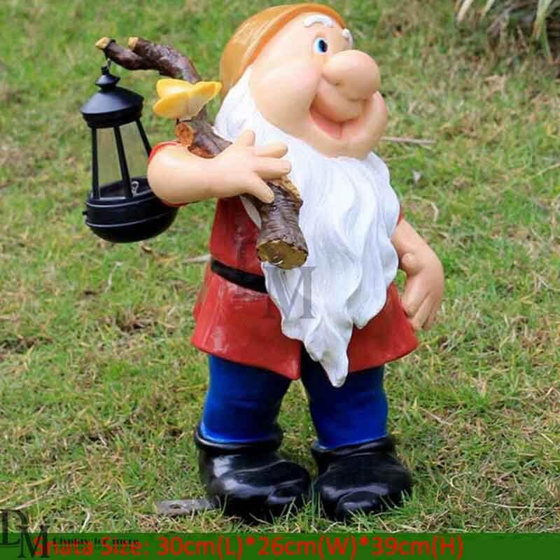 resin garden gnomes