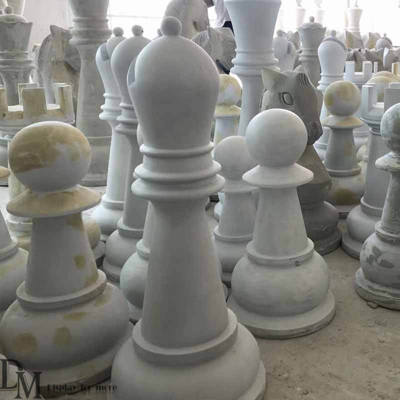 Oversized Chess Pieces In Law Amp Garden Decoration Dm Display
