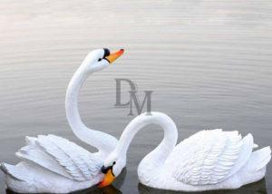custom swan animal statues