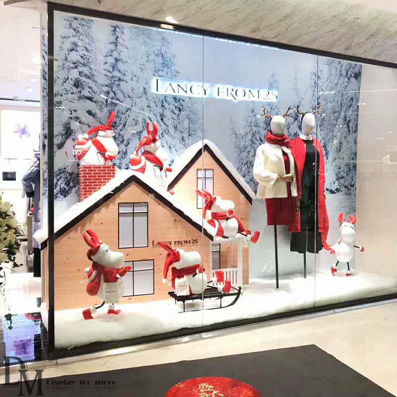 Christmas Window Displays.Fashion Window Display Ideas Fashion Shop Window Displays
