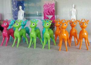Fiberglass Deer