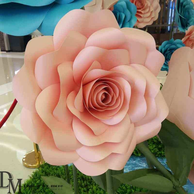 Craft giant paper flowers for spring window display dm giant paper flower for sale mightylinksfo