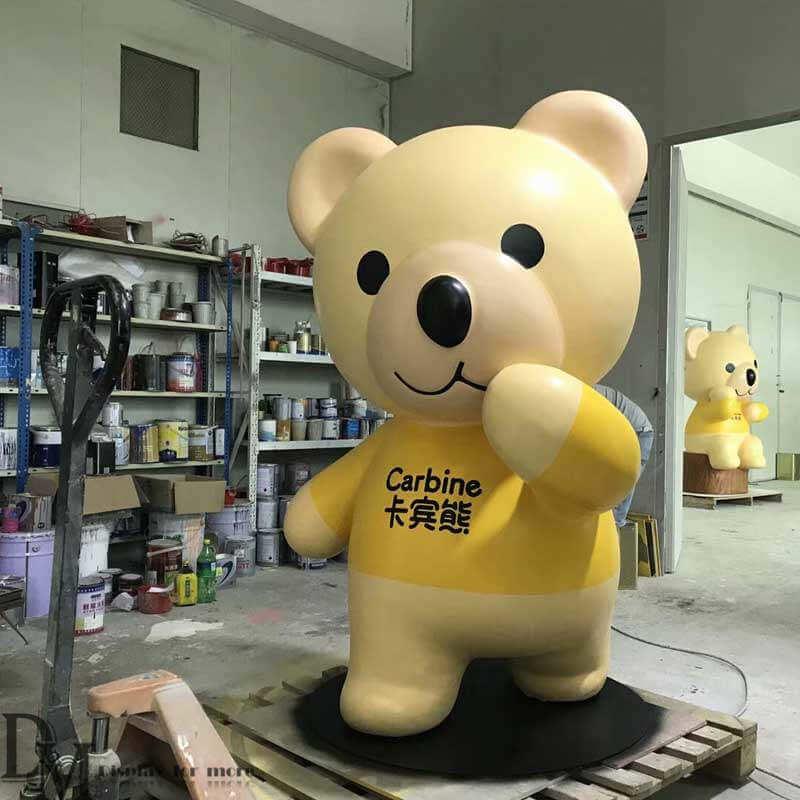 Fiberglass Bear