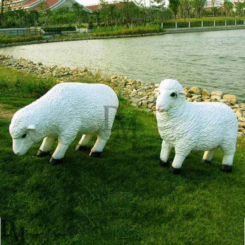 sheep garden ornament