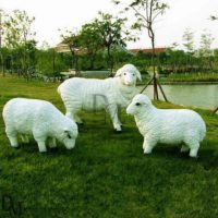 Life Size Sheep Garden Ornaments