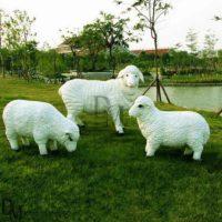 Life Size Sheep Garden Ornaments