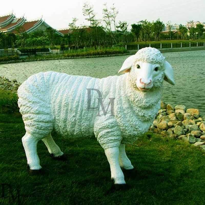 Fiberglass Sheep