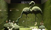 Hermas Window Display
