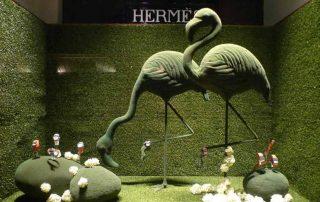 Hermas Window Display