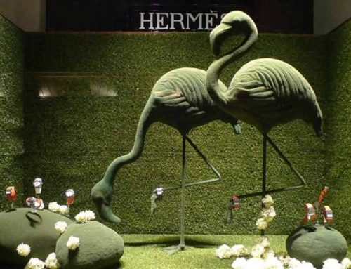 How to Use Animal Props to Design Shop Windows