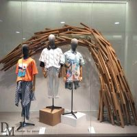 Wood Window Display