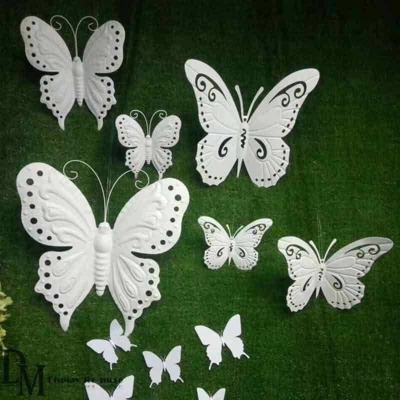 Metal Wall Butterflies