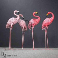 Flamingo lawn ornament