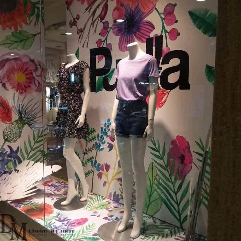 Retail Window Backdrops