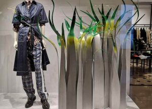Visual merchandising luxury brands