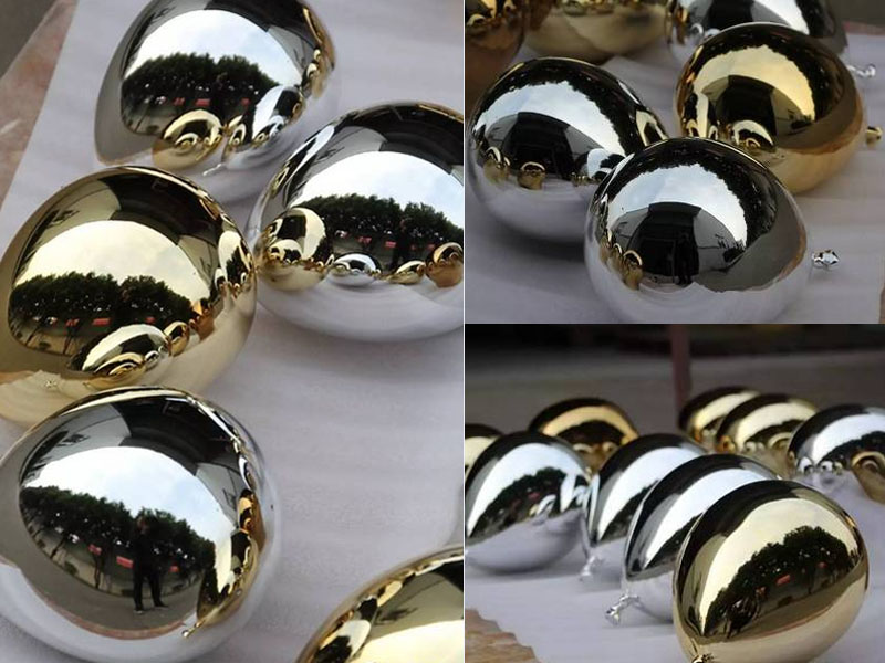 electroplated stailess steel balloon