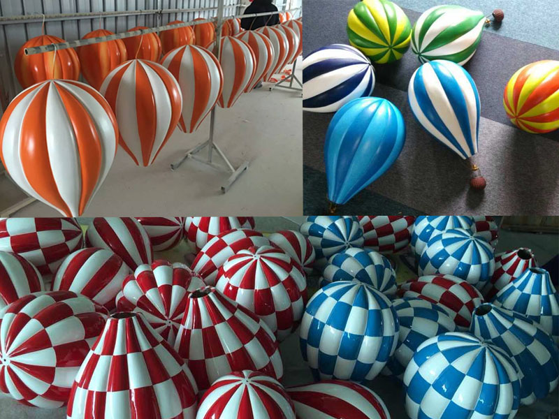 fiberglass hot air balloon