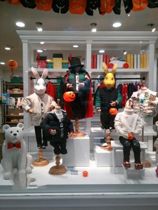 Easter Window Displays For Children S Wear Store Dm