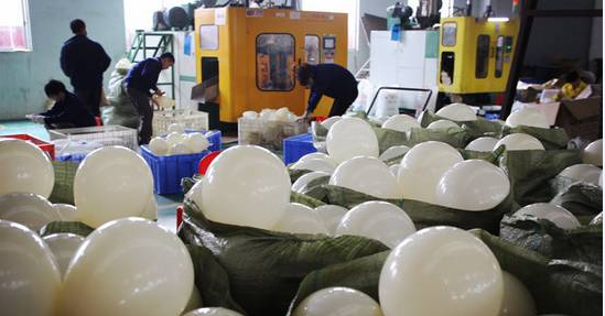 plastic balloon
