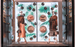 Fendi Window Display