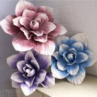Artificial Foam Flowers