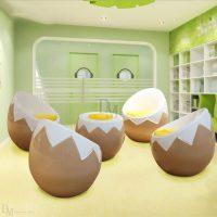 Fiberglass Egg Chair