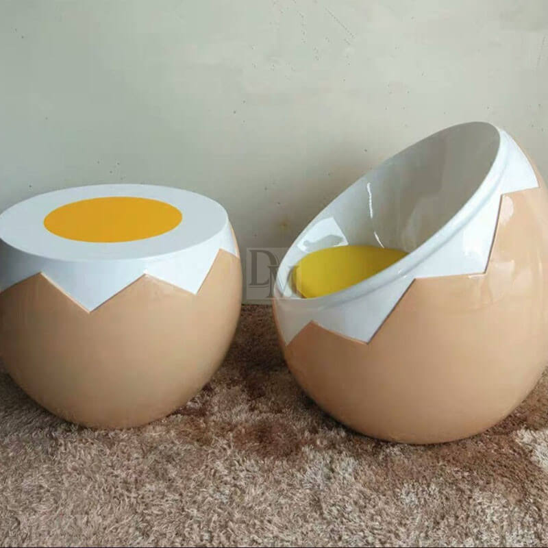 egg shell chair