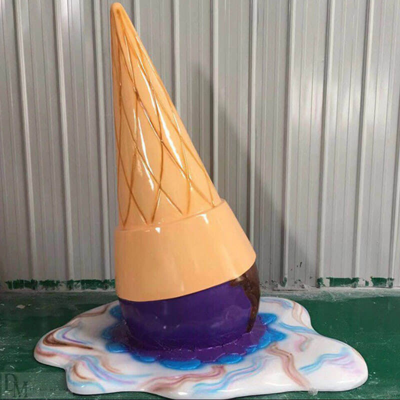 fiberglass ice cream cone for sale