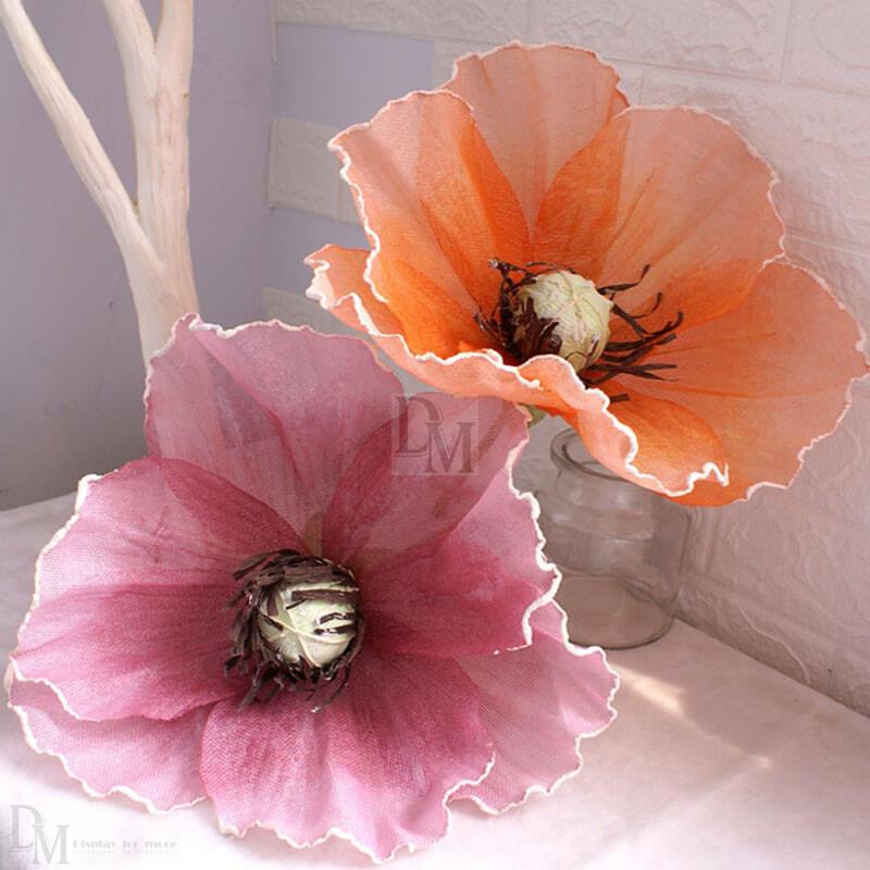 silk floral fabric