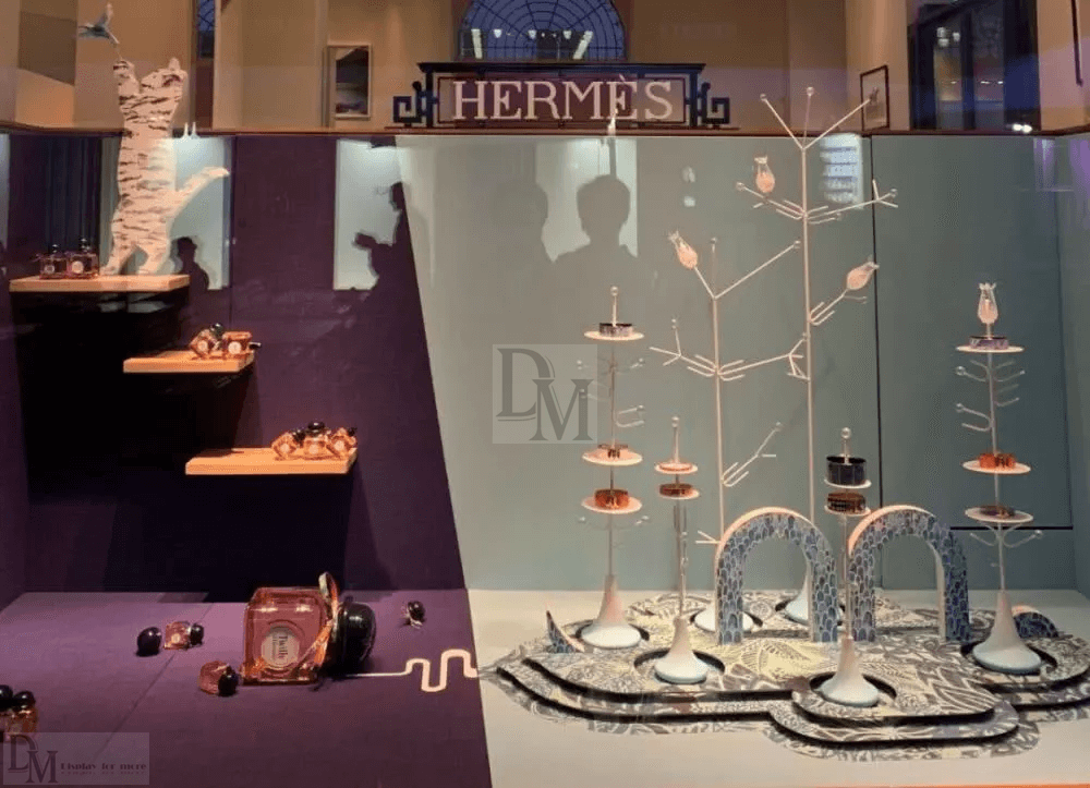 Hermes Shop window
