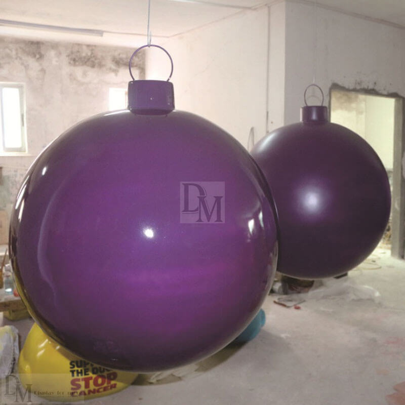 large christmas tree balls
