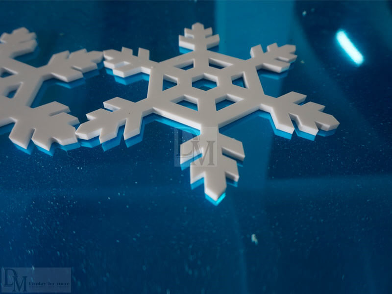 Acrylic Snowflakes