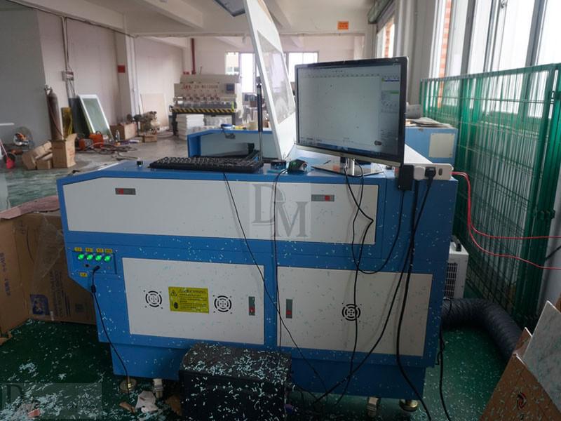 DM Window Display introduces laser engraving machine