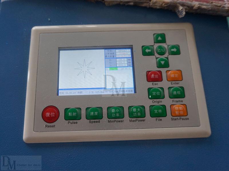 laser engraving machine controller