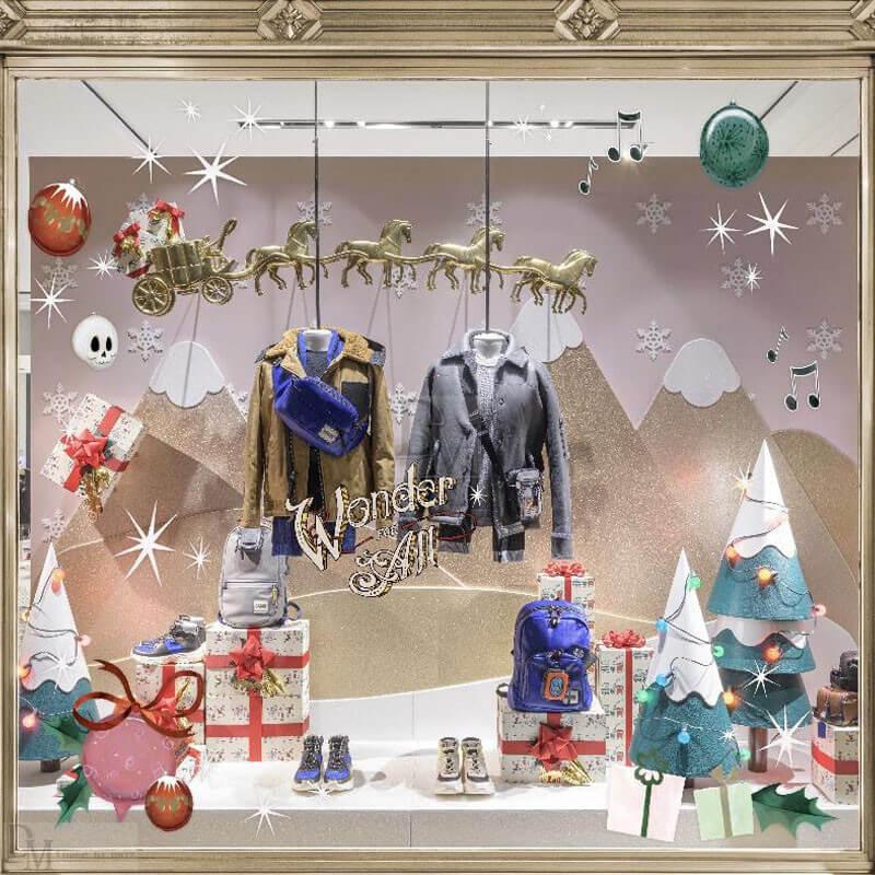 2019 Coach Christmas Window Display