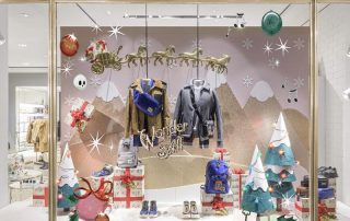 2019 Coach Christmas Tree for Shop Window