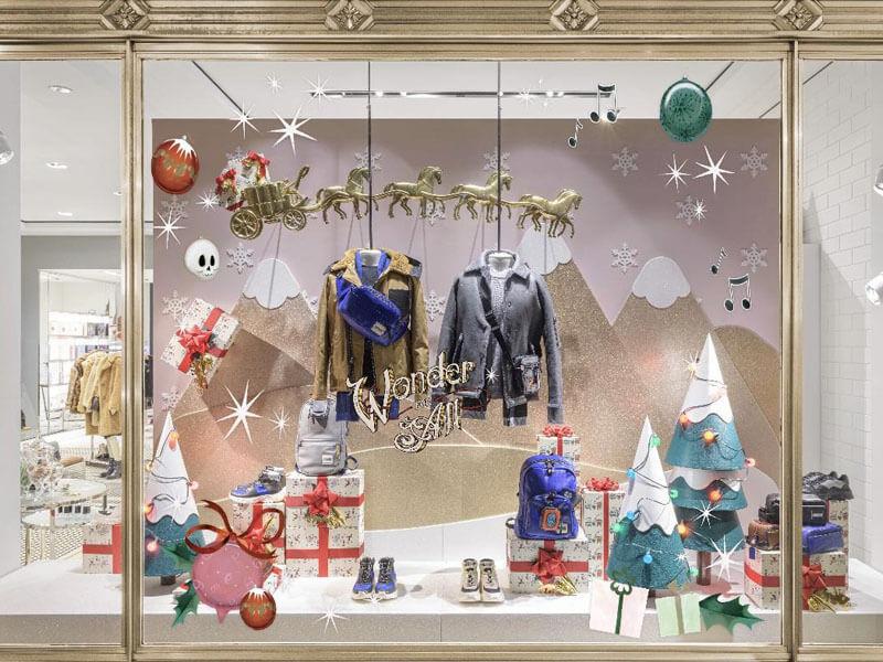 2019 Coach Christmas Tree for Shop Window