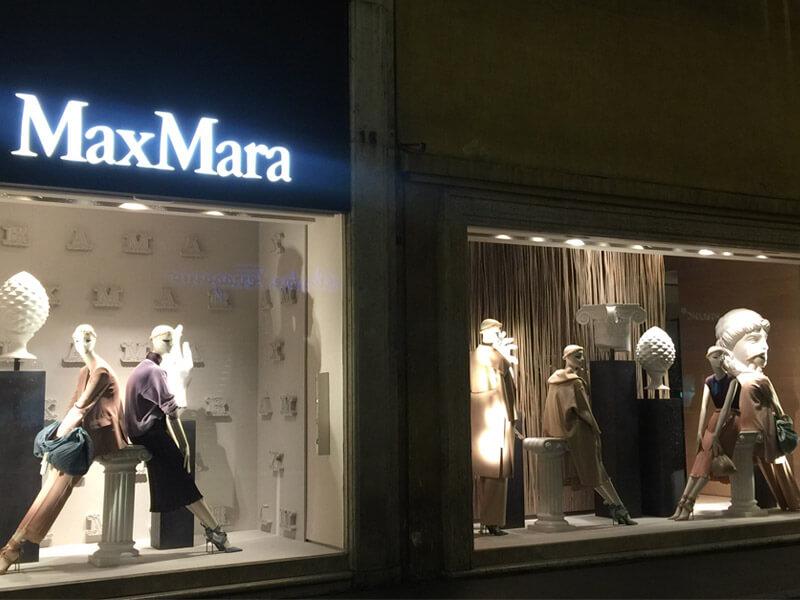 2018 MAXMARA STORE WINDOW