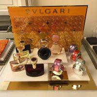 BVLGARI Counter Display Props