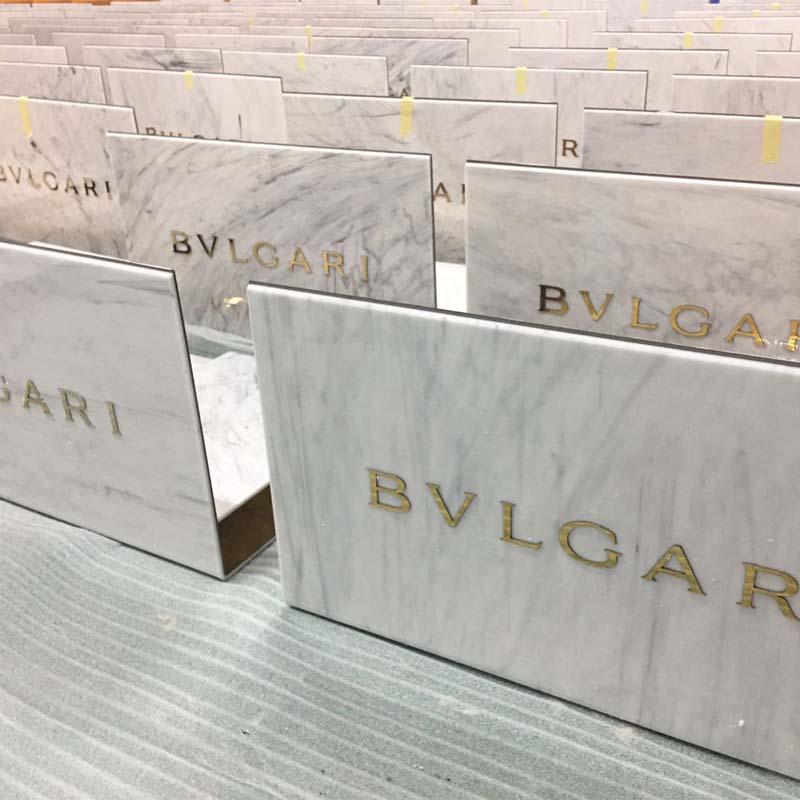 BVLGARI Perfume Display Props
