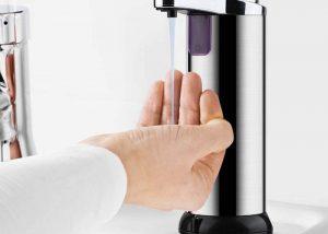automatic soap dispenser for COVID-19
